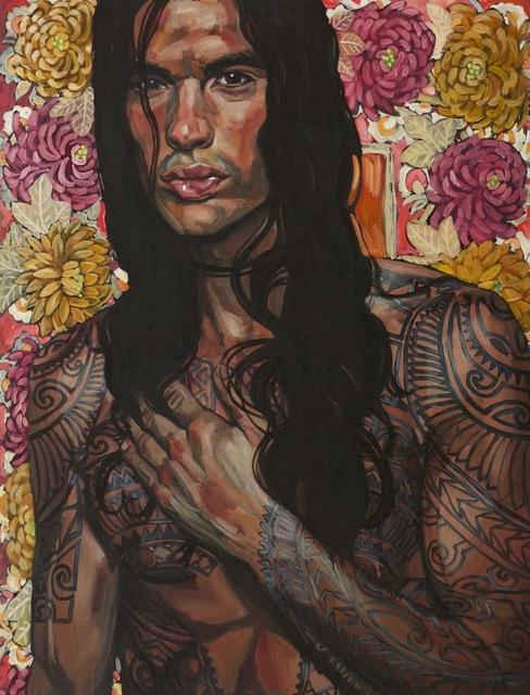 Belinda Eaton, 'Tattoo Man', 2012, Gormleys Fine Art