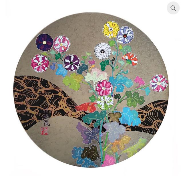 Takashi Murakami, 'Korin: Flowers', 2016, MSP Modern