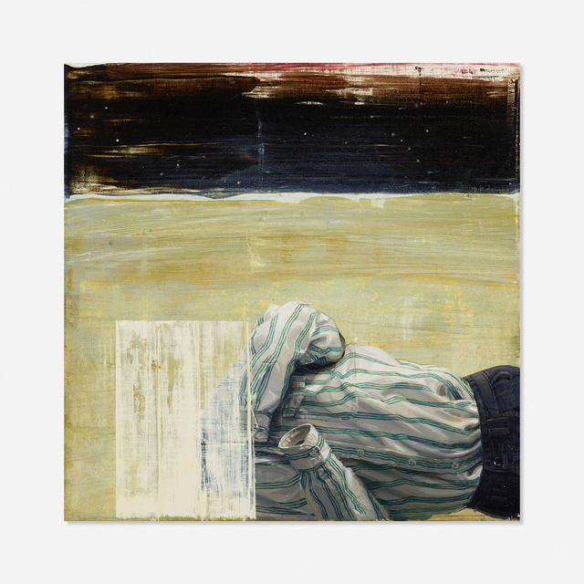 George Fischer, 'Concealment', Painting, Oil on canvas, Rago/Wright