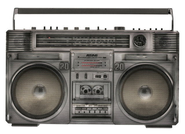 , 'Boombox 1,' 2010, Joseph Gross Gallery
