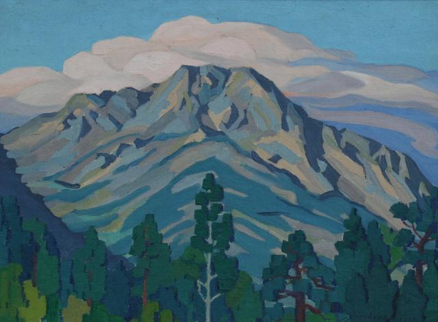 , 'Twin Peaks,' 1933, JRB Art at The Elms