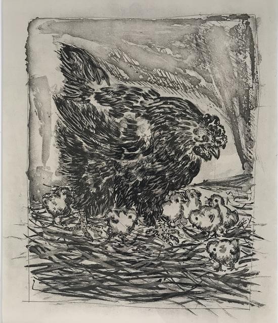 , 'La Mere Poule (The Mother Hen),' 1936, Les Yeux du Monde Gallery