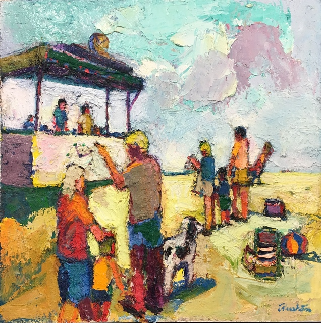 William Rushton, 'Beach Life', 2018, Andra Norris Gallery