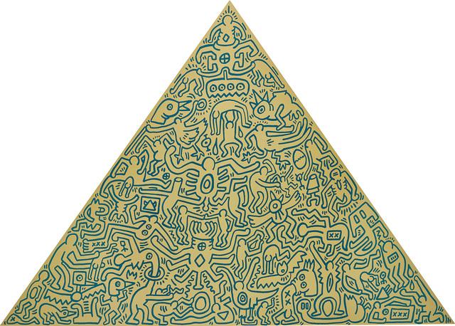 Keith Haring, 'Pyramid', 1989, Phillips
