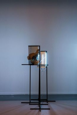 , 'Afterimage (Reconstruction of a Head),' 2014, Steve Turner