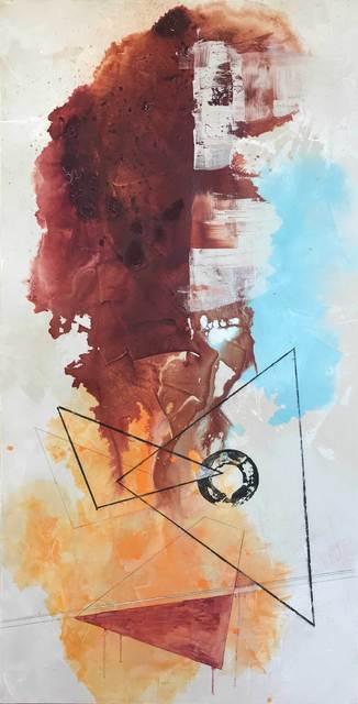 , 'The Sacred Flame, New Moon | Metamorphosis Series,' 2019, Artsivana Contemporary