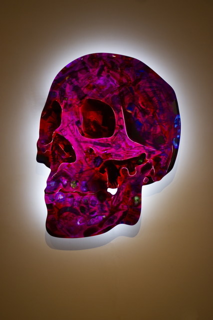 , 'Red Skull,' 2017, HOHMANN
