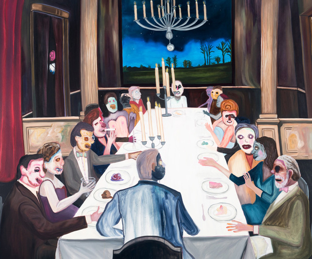 , 'The Banquet,' 2015, Peana Projects