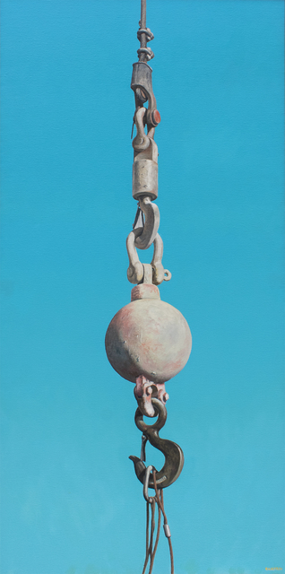 Joseph E. Richards, 'Untitled (Pink Ball and Hook)', 1981, Carrie Haddad Gallery