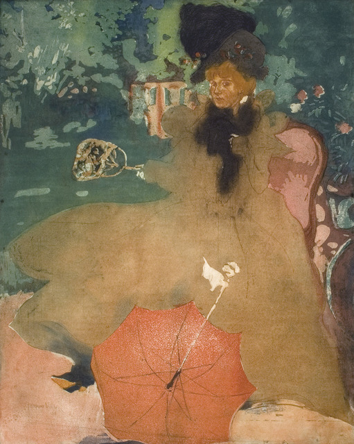 , 'L'Ombrelle Rouge (The Red Parasol),' 1901, R. S. Johnson Fine Art