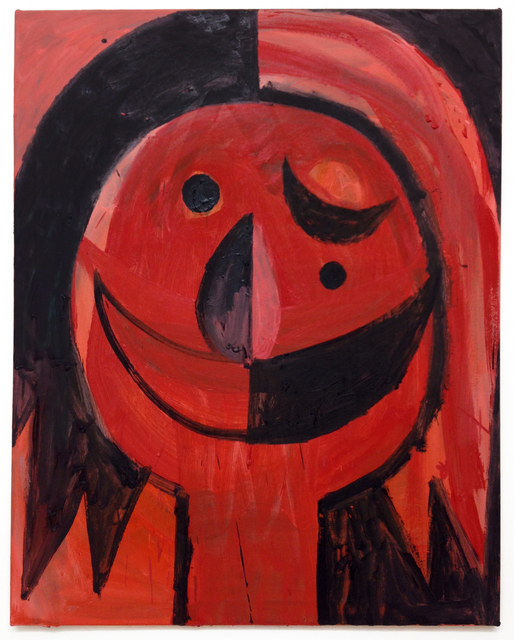 , 'Black Death (Red Rose),' 2014, East Hampton Shed