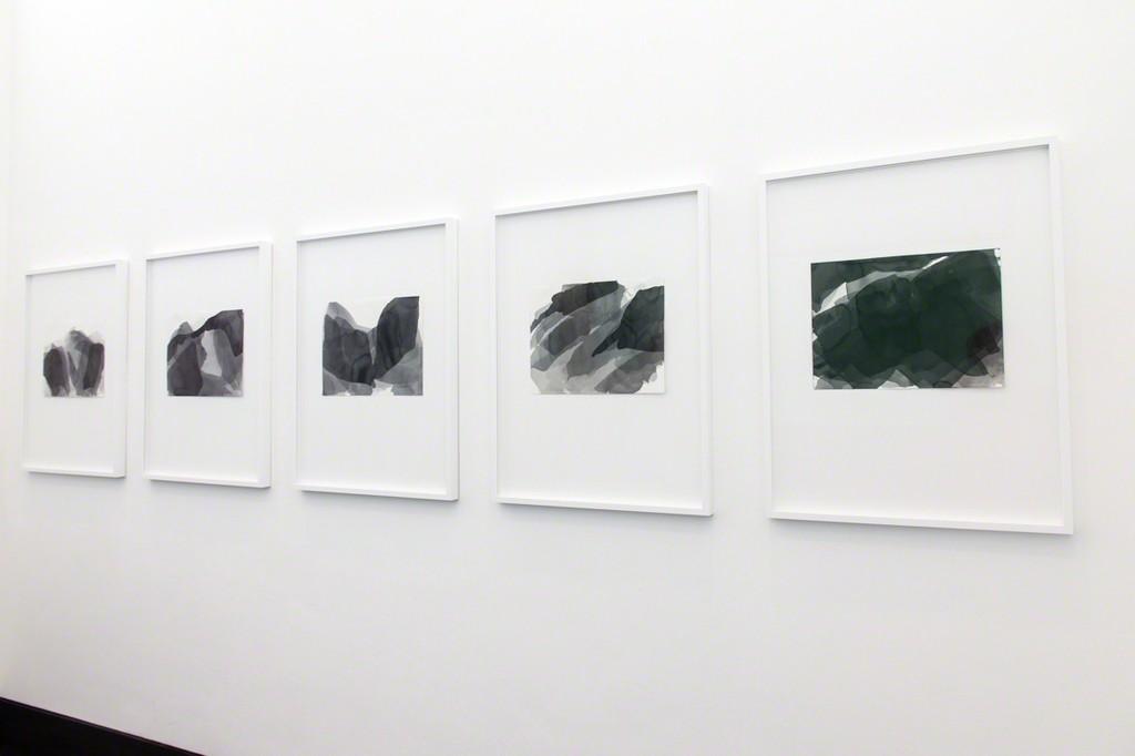 "Install shot ""Joachim Bandau - radikal"", Galerie Gisela Clement"
