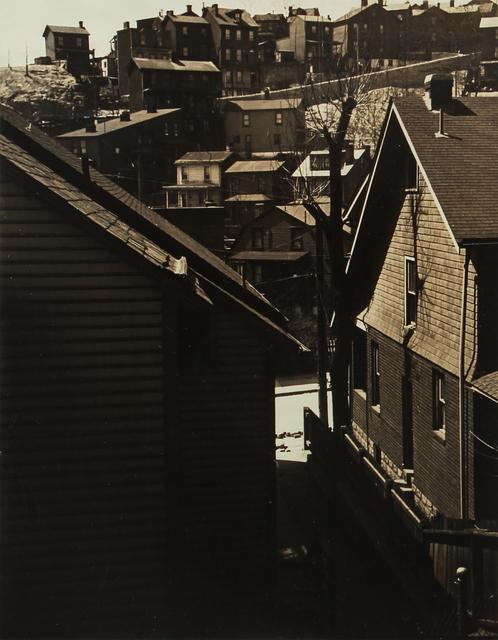 , 'Untitled (hillside houses),' 1930-1943, L. Parker Stephenson Photographs