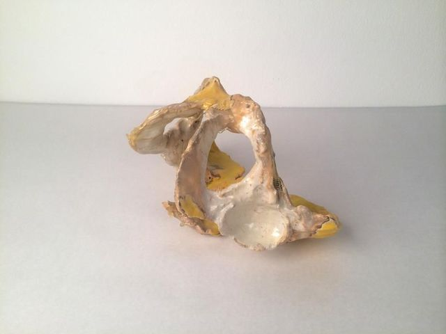 , 'Yellow Pelvis,' 2015, Mark Moore Fine Art