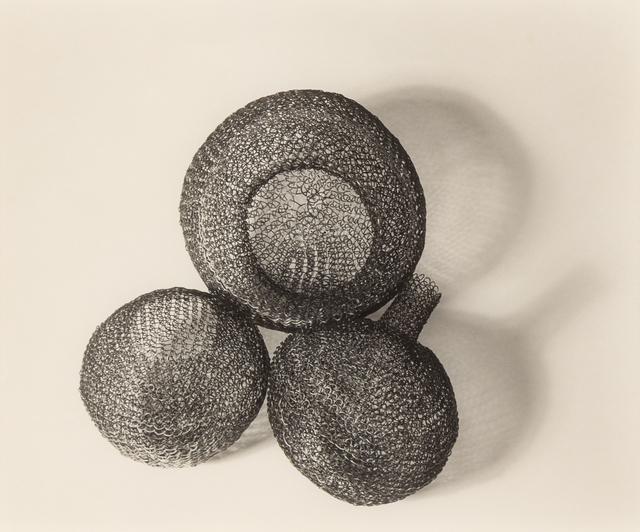 Imogen Cunningham, 'Three Wire Sculptures', c. 1950's, Hindman
