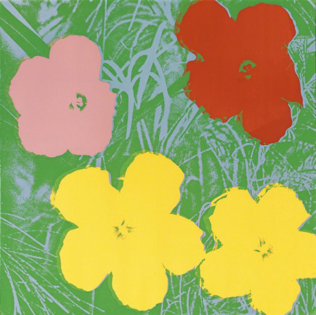 Andy Warhol, 'Flowers, II.65', 1970, Print, Screenprint on paper, Upsilon Gallery