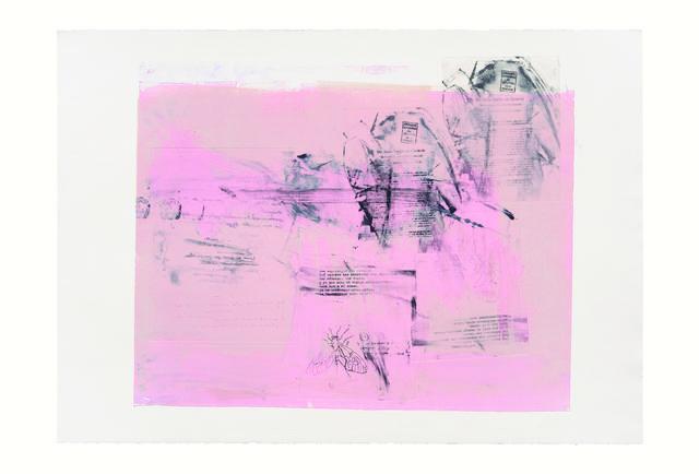 , 'Serie Cortazar, Monoprint D,' 2015, Artemisa Gallery