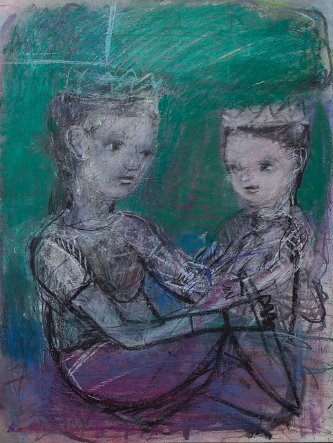 Marty Kelly, 'My Sister', 2020, Drawing, Collage or other Work on Paper, Graphite, oil pastel, chalk pastel & charcoal on Arches HP archival watercolour paper, Gibbons & Nicholas