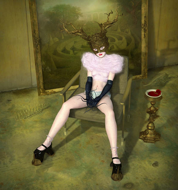 Ray Caesar, 'Minotaur', Print, Digital Ultrachrome on Archival Paper ed. of 20, Dorothy Circus Gallery