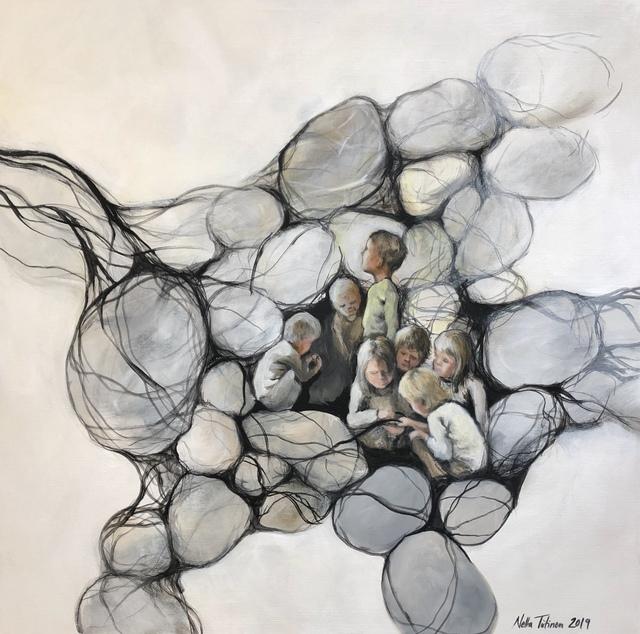 , 'Vaikutteita,' 2019, Gumbostrand Konst & Form