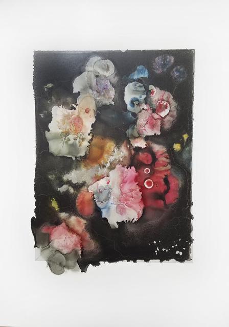 """Joachim Schulz, ''Blumenbukett in einer Glasvase"""" nach Nicolas van Veerendael 1662 9/9', 2917, Von Lintel Gallery"""