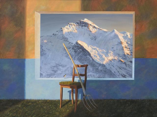 , 'Jungfrau 17:00,' 2006-2018, GALERIE URS REICHLIN