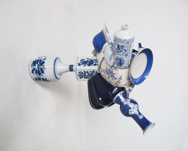 , 'Na boca do Azul,' 2015, Marsiaj Tempo