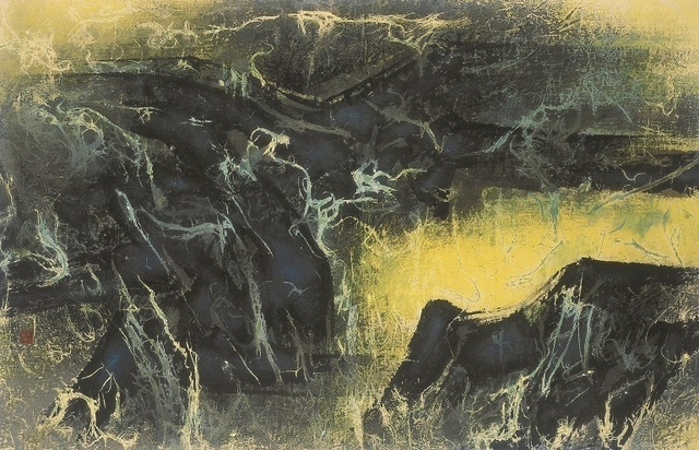 , 'Widespread Springs in Mountains Following Rain 雨後山中處處泉,' 1968, Galerie du Monde