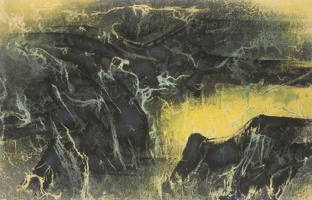 , 'Widespread Springs in Mountains Following Rain 雨後山中處處泉,' 1968, Galerie du Monde
