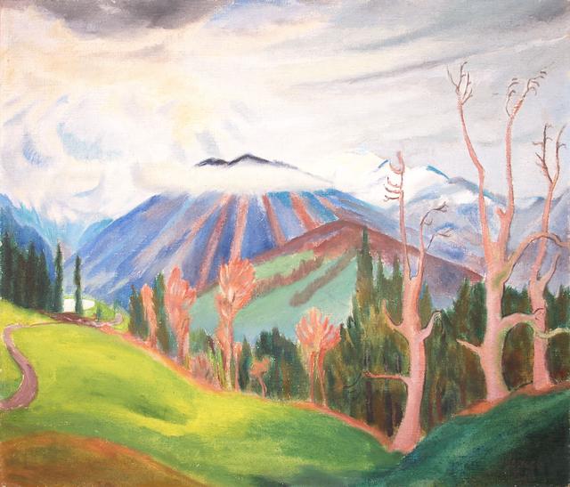 , 'Gebirgslandschaft,' 1922, Henze + Ketterer