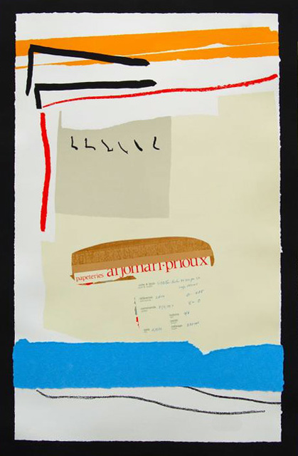 Robert Motherwell, 'America-La France Variations III', 1983-1984, Kenneth A. Friedman & Co.
