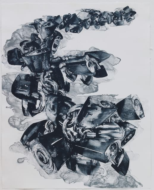 Qiu Zhijie, 'All the Bigness have their Scars', 2008, STPI