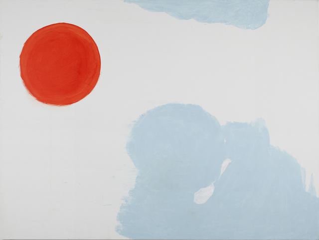 , 'Red Sun,' 2013, Dvir Gallery