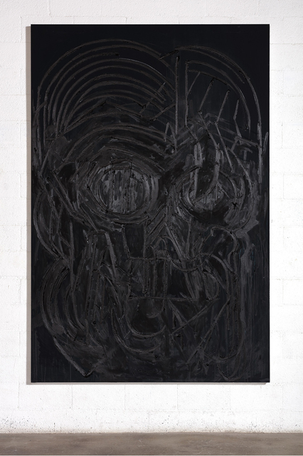 , 'Black Painting 3,' 2016, Gagosian