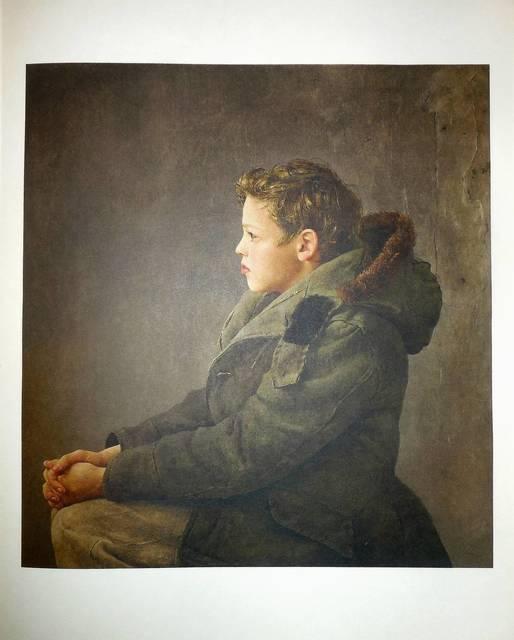"Andrew Wyeth, 'Rare ""Nicholas"" 1956 Collotype', 20th Century, Lions Gallery"