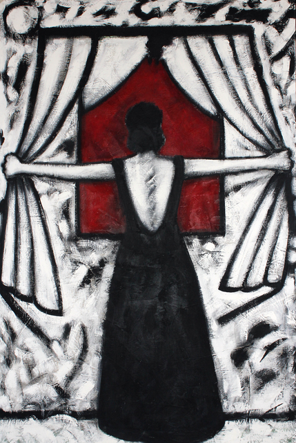 Gronk, 'La Tormenta', 1985, Robert Berman Gallery
