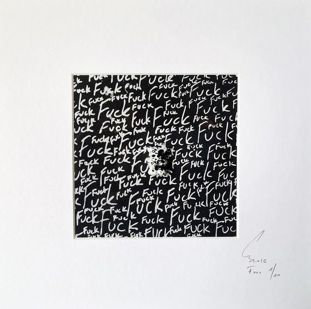 , 'Mini Fuck ,' 2016, Virginie Barrou Planquart