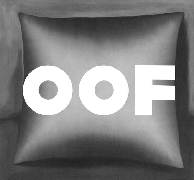 , 'Oof, 1963 + Kissen, 1965,' 2012, Bruce Silverstein Gallery