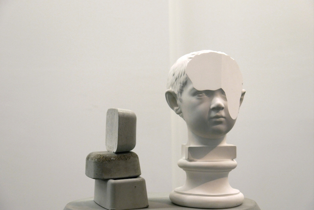, 'raccia IV, modified plaster bust of Augusto giovanile,' , OTTO ZOO