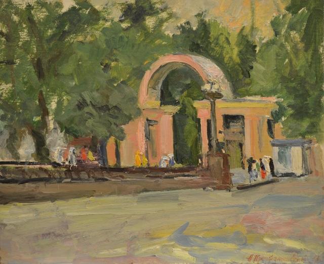 Aleksandr Ivanovich Preobrazhensky, 'Sunday', 1964, Surikov Foundation