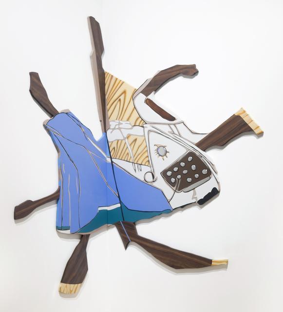 , 'Untitled (Splatter Desk, Chair, Typewriter),' 1997, Locks Gallery