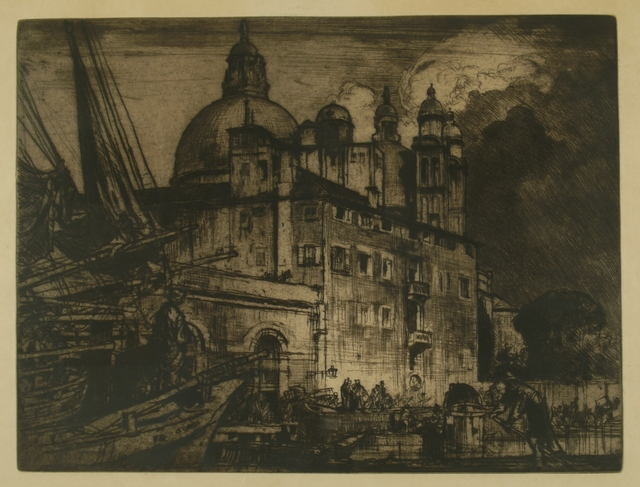 Sir Frank Brangwyn, 'Salute, Venice', ca. 1910, Private Collection, NY