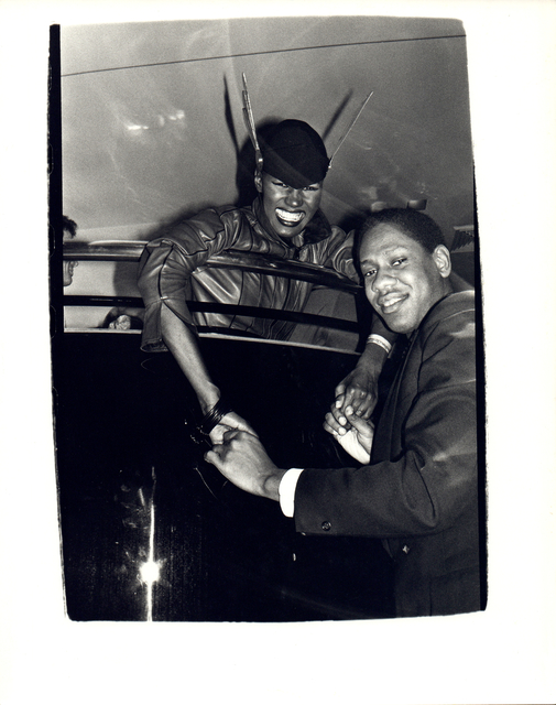 Andy Warhol, 'Andy Warhol, Photo of Grace Jones and Andre Leon Talley at Studio 54 circa 1980', ca. 1980, Hedges Projects