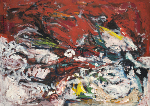 Gene Davis, 'Untitled', 1954, Painting, Oil on masonite, CONNERSMITH.