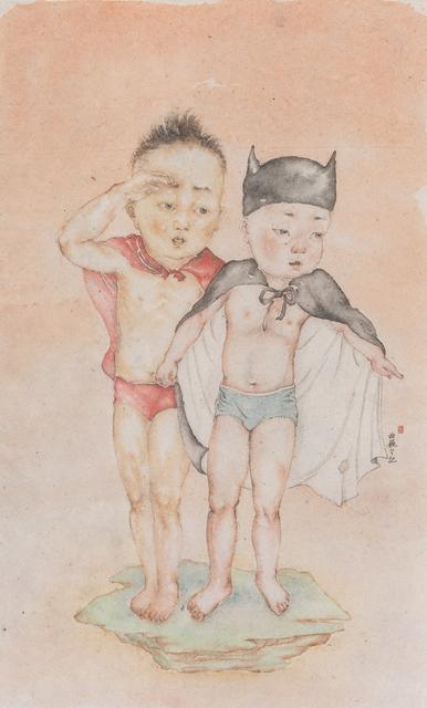 , 'Superman and Batman,' , Salomon Arts Gallery