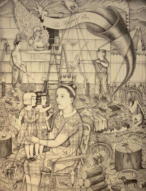 , 'The Fireman,' 2013, Jonathan LeVine Projects