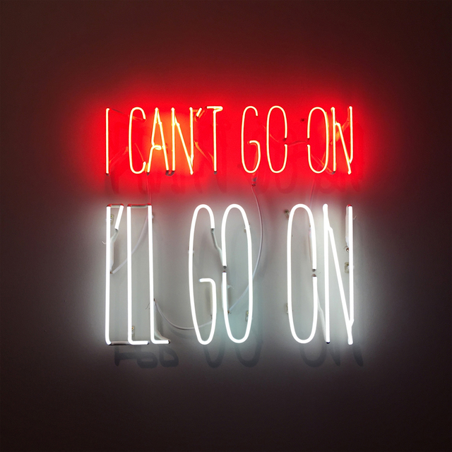 , 'I can't go on. I'll go on,' 2016, Carbono Galeria