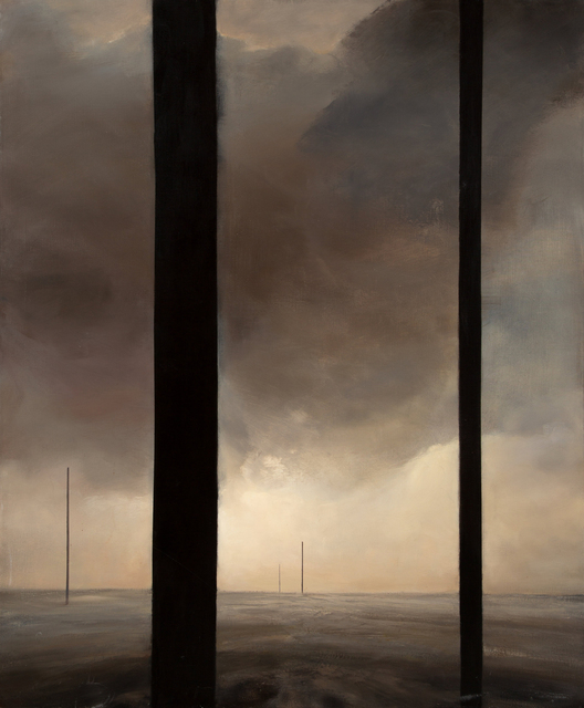 Dozier Bell, 'Untitled (Five Pillars)', 1988, Richard Levy Gallery