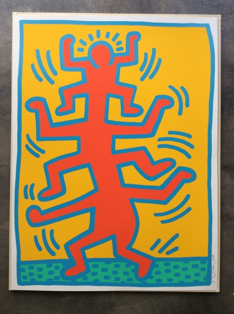 Keith Haring, 'Growing No. 1 UNIQUE TRIAL PROOF', 1988, Joseph Fine Art LONDON
