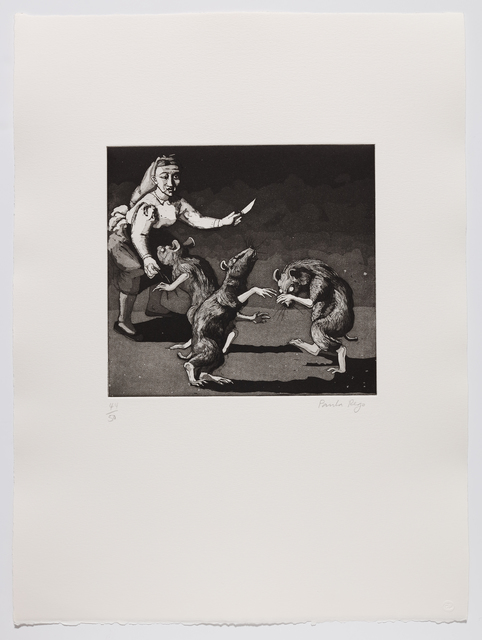 Paula Rego, 'Three Blind Mice II', 1989, Marlborough Graphics
